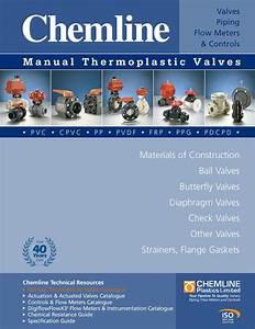 Chemlinethermoplasticvalves By Westlund Pvf