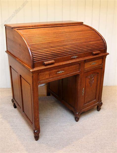 solid oak roll top desk solid oak roll top desk antiques atlas