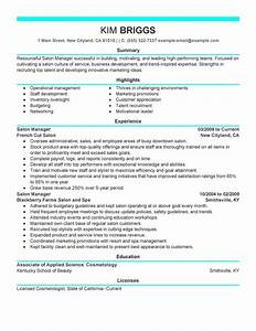 big salon spa fitness example modern 6 design With esthetician resume template