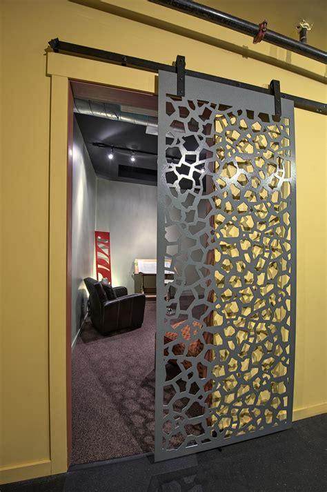 hanging screen door fractured rev panels