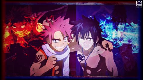 natsu gray wallpaper atfairy tail  kingwallpaper