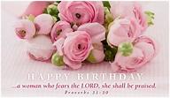 Woman Praised Birthdays eCard - Free Christian Ecards ...