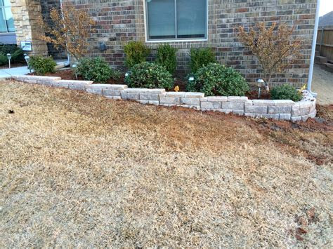 low retaining wall small retaining wall eco landscaping