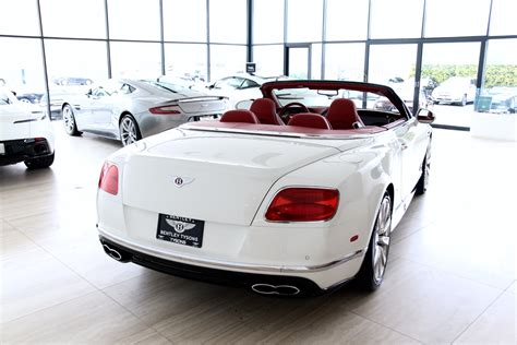 bentley v8s 2016 bentley continental gtc v8s stock p056870 for sale