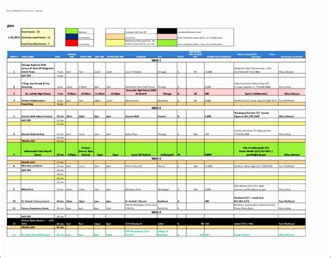 day plan template excel exceltemplates
