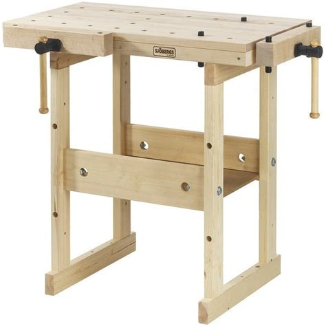 sjobergs hobby  workbench  birch wood top