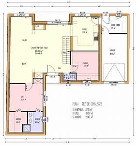 maison bois 3 chambres 12300 m2 3 chambres loire With plan maison etage 3 chambres gratuit