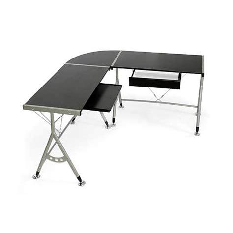elburn dark brown l shaped modern computer desk 7092231