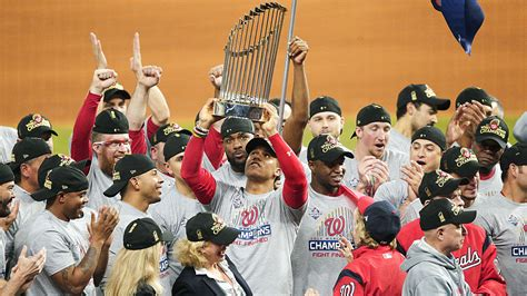 nationals win  world series  stunning game