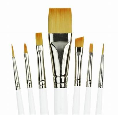 Brush Paint Brushes Broad Handle Painting Royal