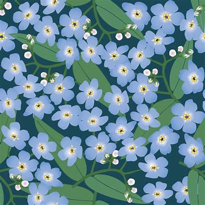 Seamless Abstract Spring Background Flower Floral Pattern