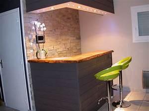 Bar De Maison : comptoir bar ~ Teatrodelosmanantiales.com Idées de Décoration