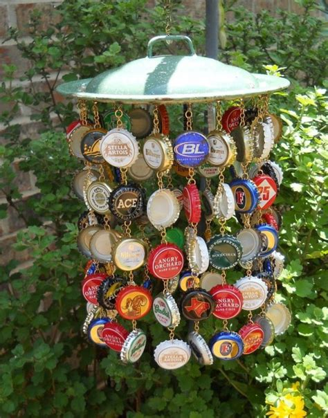 19 Easy and Striking DIY Bottle Cap Craft Ideas DIY