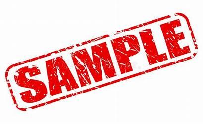 Sample Clipart Stamp Text Vector Illustration Specimen