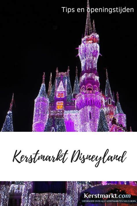 Kerstmarkt Disneyland - Data en Openingstijden 2020