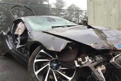 Bmw I8 Saves Lives After A Terrible Crash