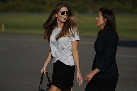 Hope Hicks Resigns From White House: Look at the Model's ...