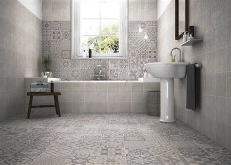 Skyros Delft Grey Wall And Floor Tile  Wall Tiles From