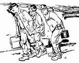 Coal Pages Coloring Mining Miner Drawing Getdrawings Excavator Printable Getcolorings sketch template