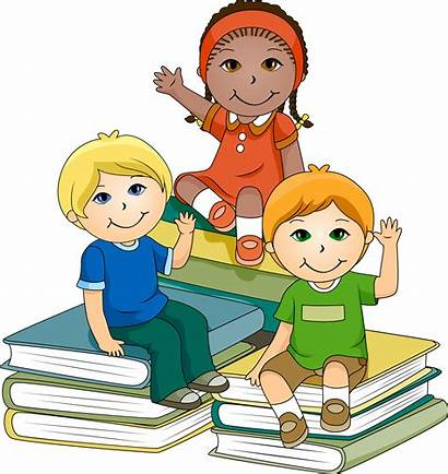 Clipart Daycare Library Graphics Clip Learning Children