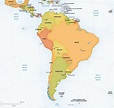 Destination Maps - South American Vacations