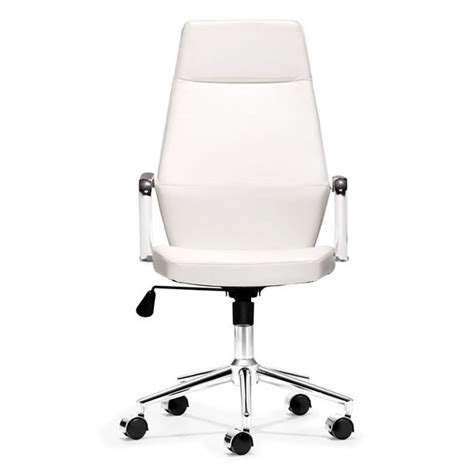 high back office chair in black leatherette z 145 office
