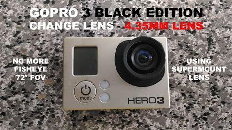 gopro hero black edition change lens mm lens