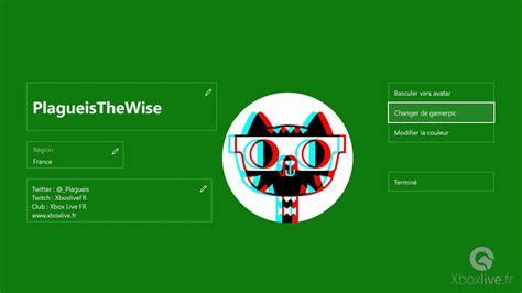 Xbox Insider Personnalisation Du Gamerpic Xbox Custom Gamerpic Youtube