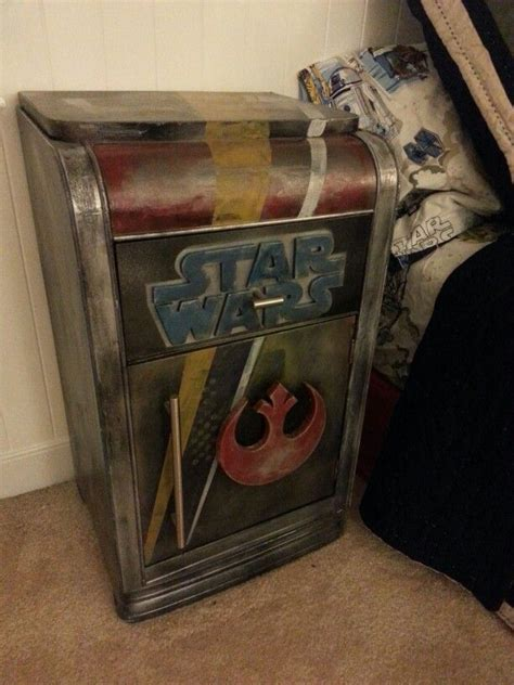 night stand     star wars inspired bedroom