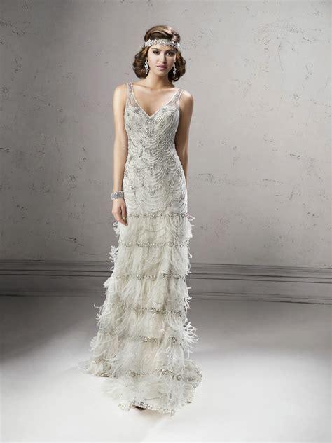 the great gatsby wedding dress gatsby wedding gown sottero midgley deco shop