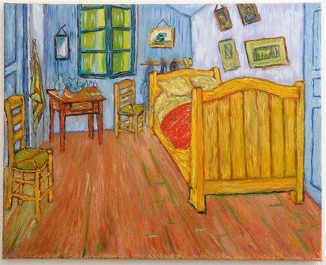 chambre à arles peinture la chambre de gogh à arles version 1 peinte