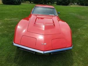 1968 Chevrolet Corvette Stingray Sportscar Red Rwd Manual