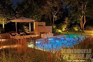 Schwimmbad Im Garten : mediterraner gartenpool schwimmbad zu ~ Whattoseeinmadrid.com Haus und Dekorationen