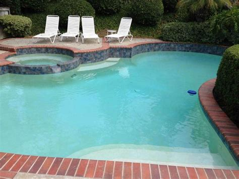 pool tile and coping ideas impressive aztec cobalt pool tile with white vinyl strap chaise lounge also swimming pool red