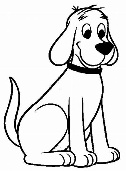 Dog Coloring Pages Clifford Puppy Cake Animal