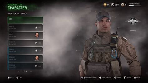 call  duty mwr character personalisation supply drops