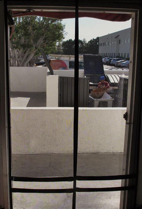 hanging screen door walk thru hanging screen doors easy walk thru screen for