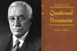 historia de la ciencia forense moderna security by default With questioned documents by albert osborn