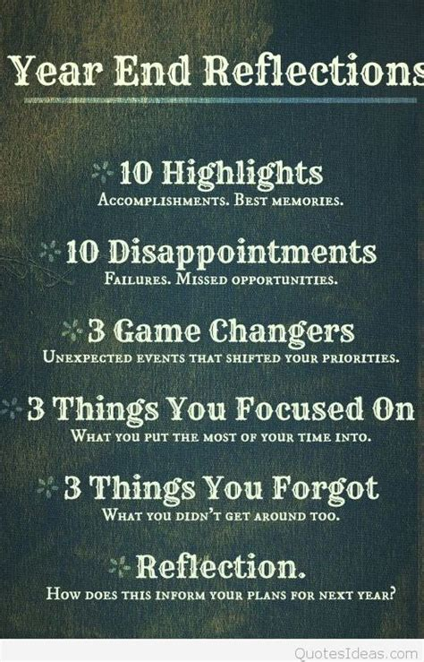 new year quotes and reflections best year end reflections quotes