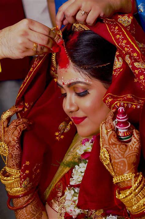 Lojja Boron Bengali Wedding Bride Weddingday India