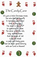 Thoughtful Thursdays: Candy Cane Poem Printable | Creative ...