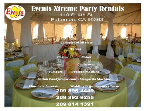 Events Xtreme Party Rentals