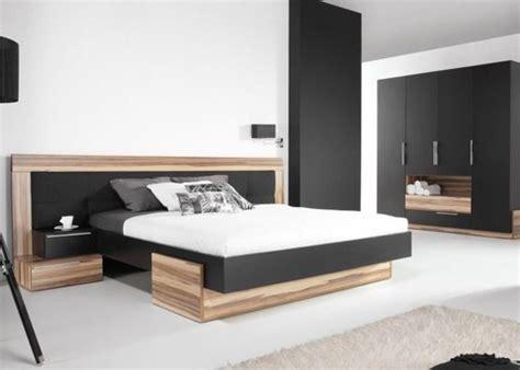 chambre a coucher contemporaine adulte lit avec armoire dressing meubles pour chambre coucher