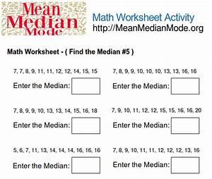 Mean Median Mode Formulas images