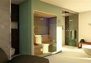 Grundriss idee badezimmer for Sauna im badezimmer