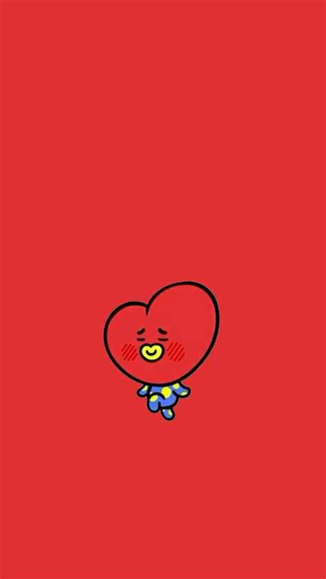 Tata Backgrounds by Curious Tata Supernatural Bt21 Wallpapers Di 2019