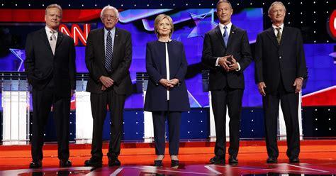democratic presidential debate highlights  clinton