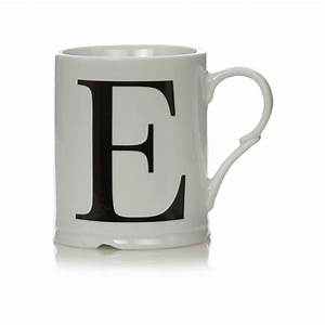 george home letter e mug cups mugs asda direct With letter e mug