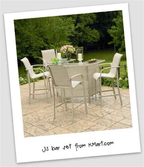 kmart patio bar sets outdoor patio bar set patio design ideas