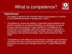 Competence in t... Competent Definition